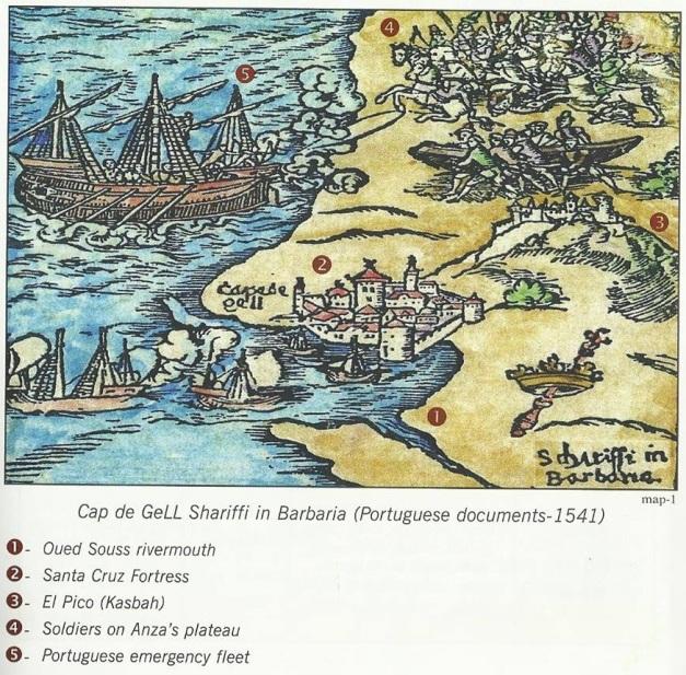 A conquista de Santa Cruz do Cabo Guer pelos Xerifes