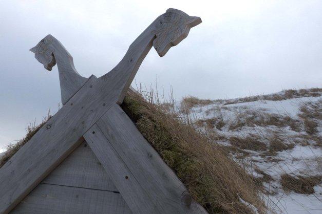 Construção alusiva aos Vikings