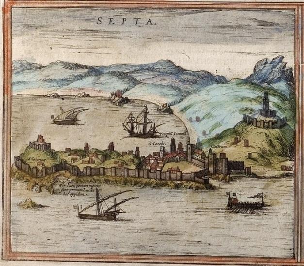 Gravura de Ceuta