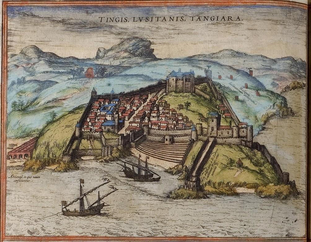 Gravura de Tanger