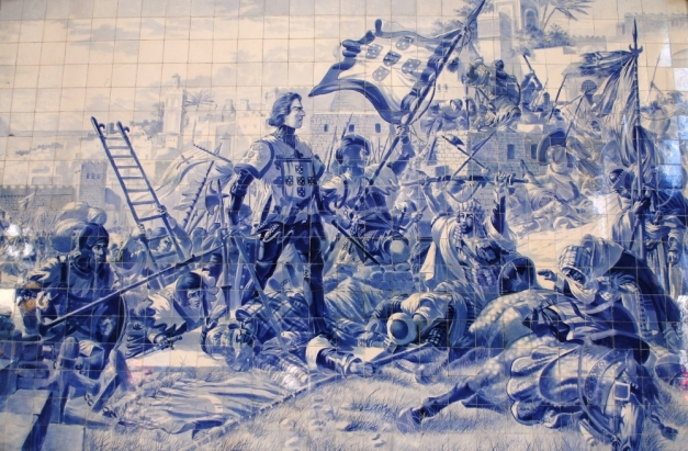 Infante_D._Henrique_na_conquista_de_Ceuta,_s.XV