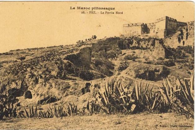 89A – Postal antigo do Borj Nord de Fez