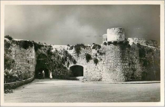 A Porta da Vila e o Baluerte do Governador