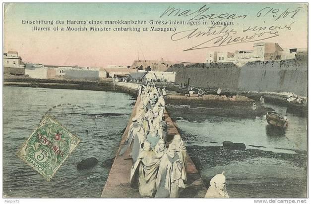 Um harém embarca em Mazagão