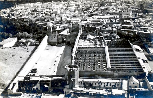 A Bab Es Seba' e a antiga prisão da Daracana