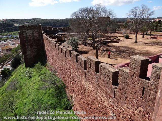 No Castelo de Silves