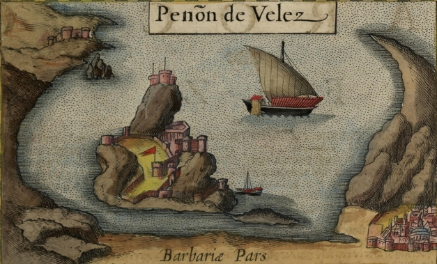 Peñón_de_Vélez_Inset_from_Map_of_Fez_and_the_Kingdom_of_Morocco