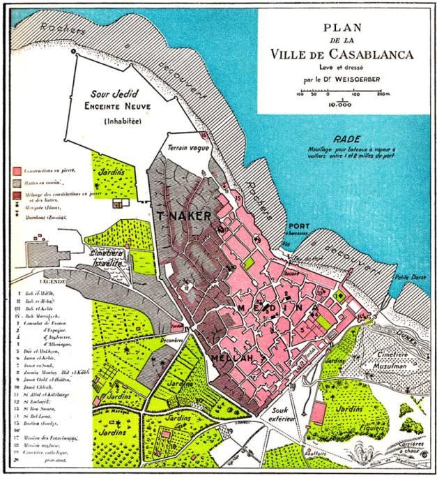 Plan de Weisgerber 1889