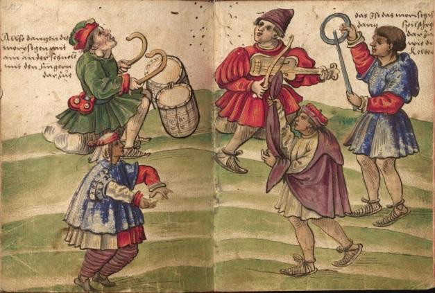 A dança mourisca Cristoph Weiditz, 1529