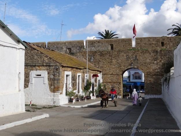 Rua no Castelo de Arzila