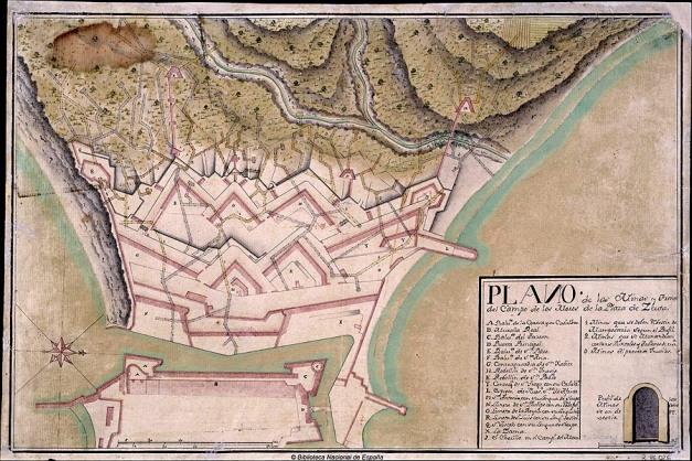 1406_Ceuta_Plano_Minas_1750-1800_900px