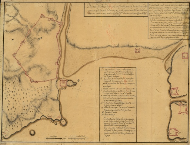 1763 pelo ajud.te Eng.ro Fran.co Lobo Cardenaa