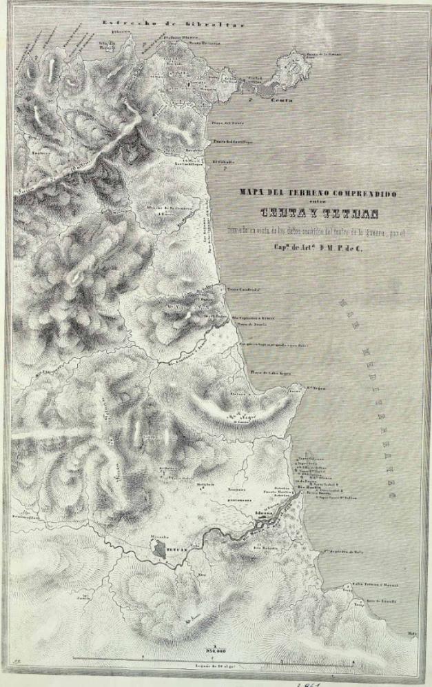 Ceuta-tetuan 1860