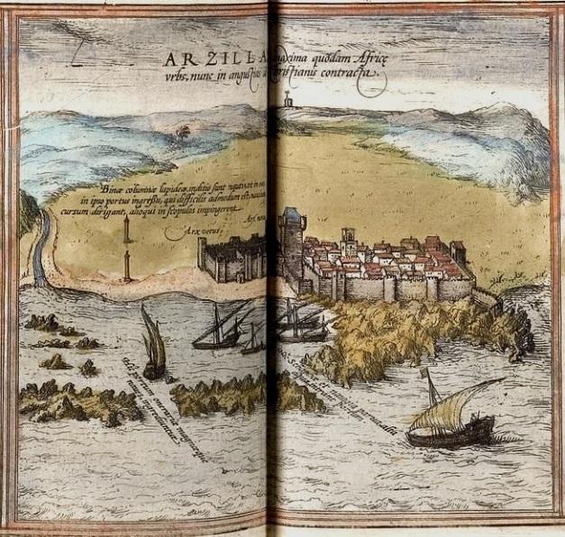 Gravura de Arzila em 1572