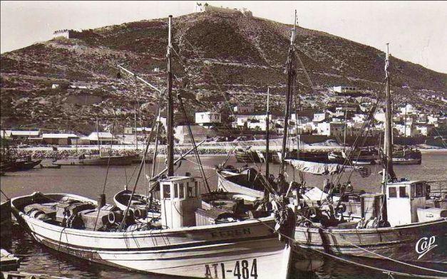 Agadir - Maroc, Founti et la Casbah, vue prise du port