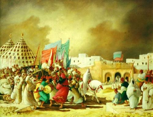 Regraga em Essaouira, de Roman Lazarev