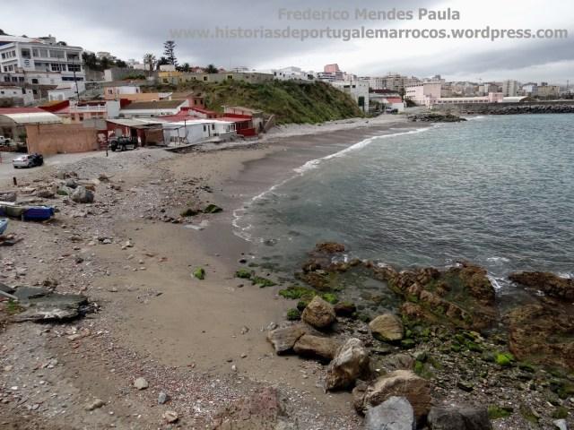 Praia de Santo Amaro Ceuta