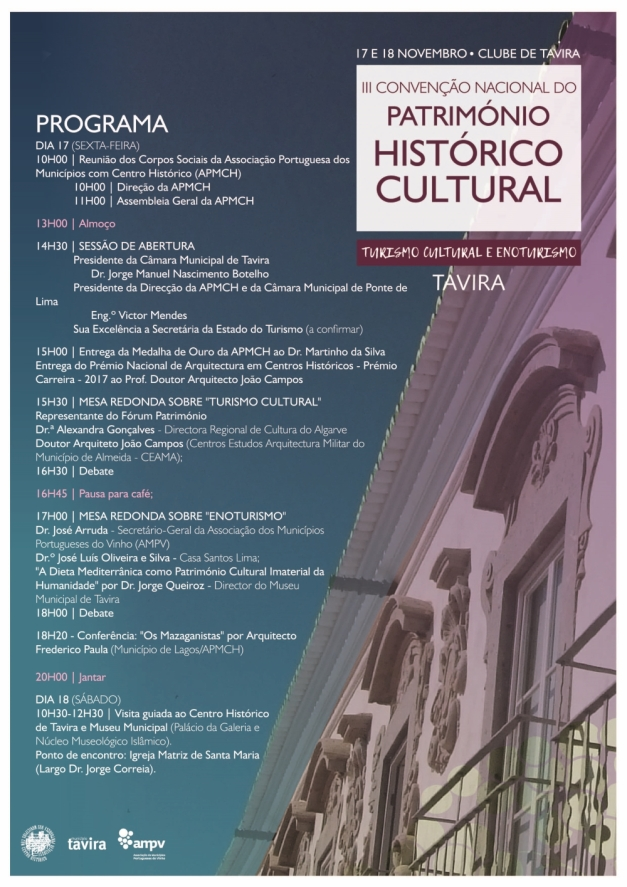 cartaz III Convenção do Patrimonio
