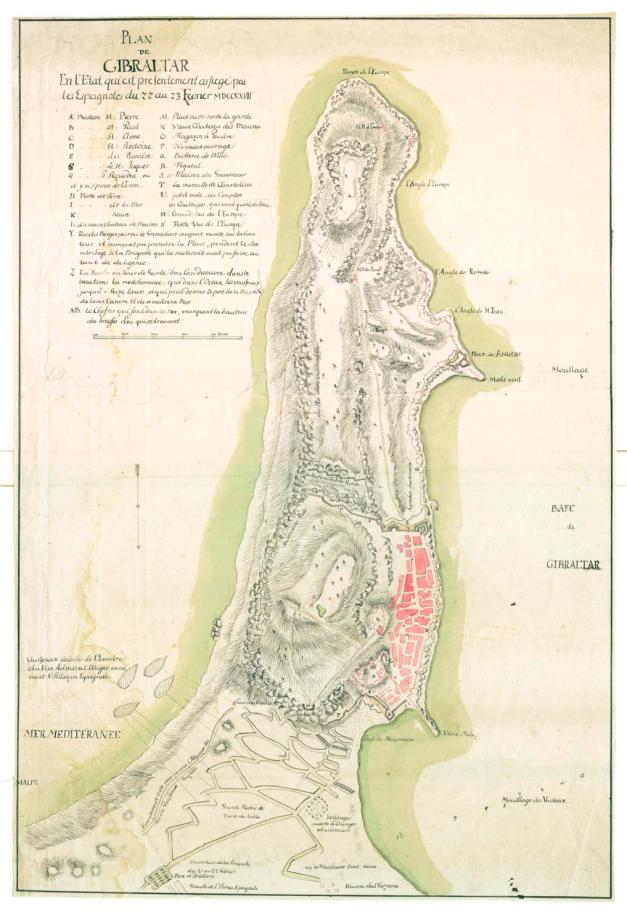 Gibraltar assedio 1727
