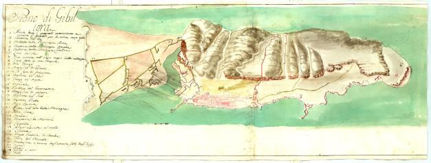 Gibraltar para 1727