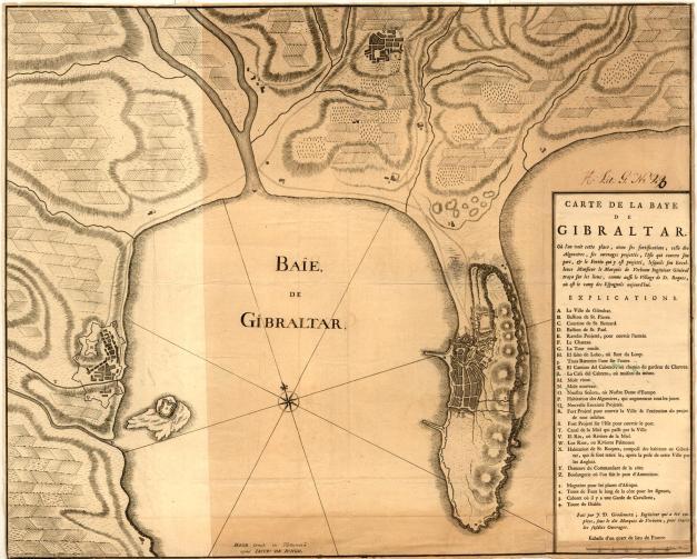 Gibraltar para 1735