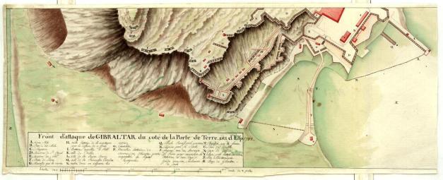 Gibraltar para 1782