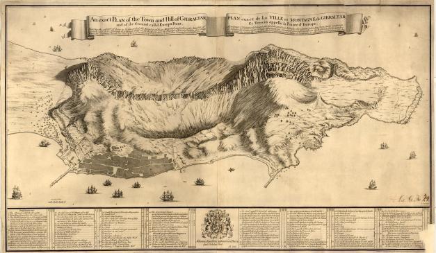 Gibraltar posterior a 1720