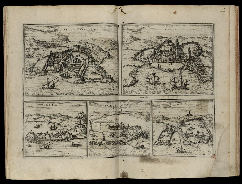 20A, 24, 78A - Civitates Orbis Terrarum de Braun e Hogenberg, 1572 (Pág. 124)