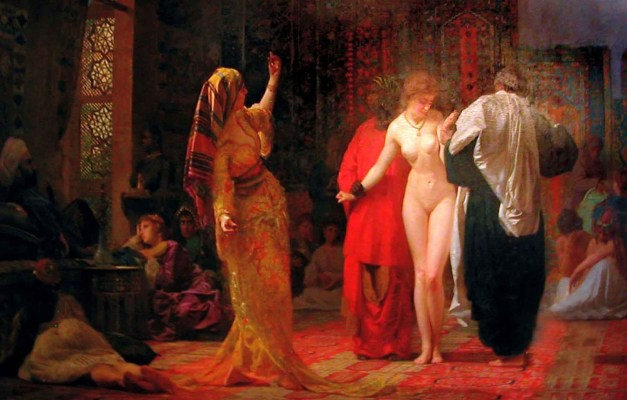 Domenico_Rosso_-_Mercado_de_escravas_brancas,_1884