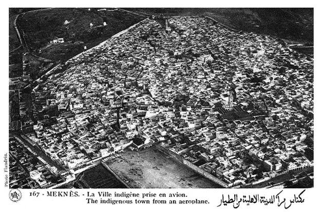 Vista aérea de Meknés