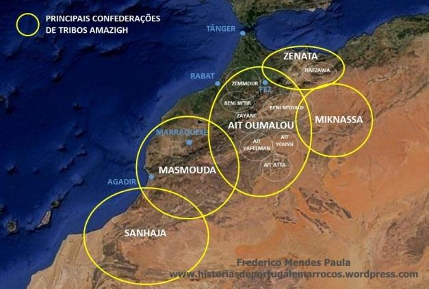 confederações de tribos amazigh