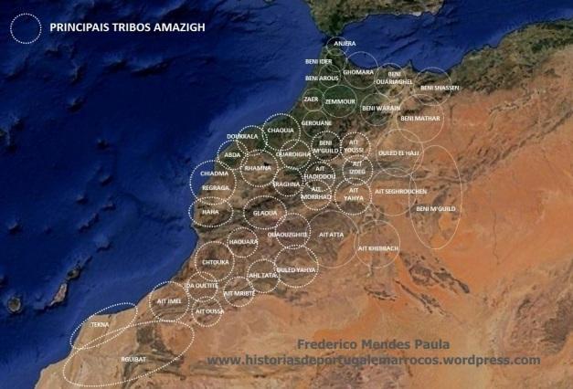 tribos amazigh