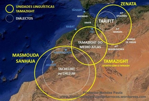 unidades linguisticas amazigh