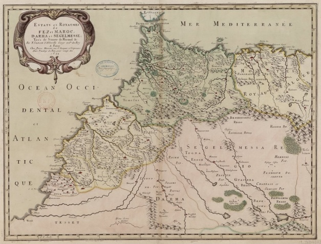 estats-et-royaumes-de-fez-et-maroc-dahra-et-segelmesse-par-n-sanson-1655