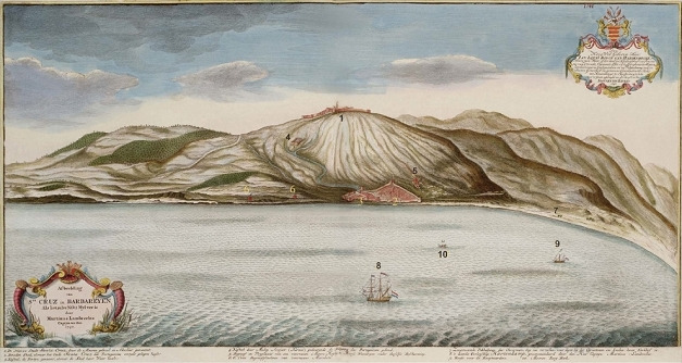 gravura-de-santa-cruz-do-cabo-guer-em-1740