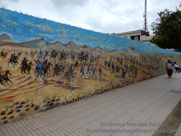 Mural Alcácer Quibir
