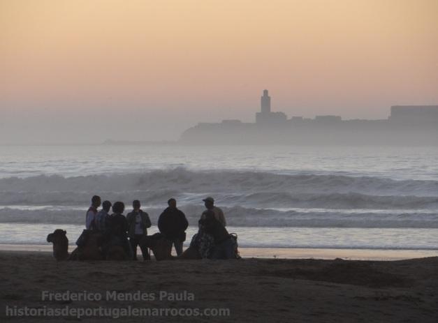 Na praia de Essaouira 3