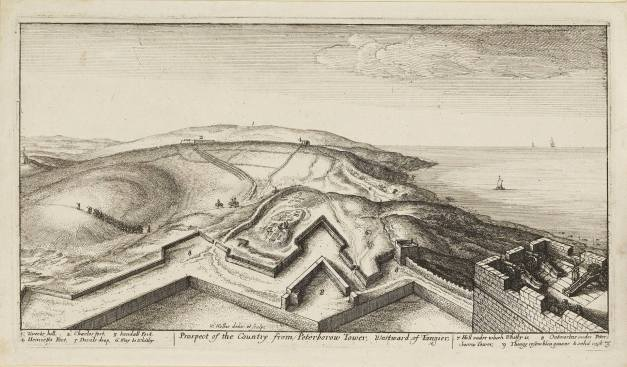 1669 Prospect of the country from Peterborow Tower Westward of Tangier