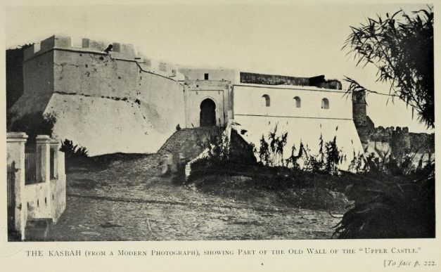 A Porta da Casbá em 1912