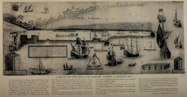 Molhe de Tanger 1670
