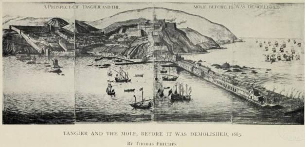 Porto de Tanger em 1683