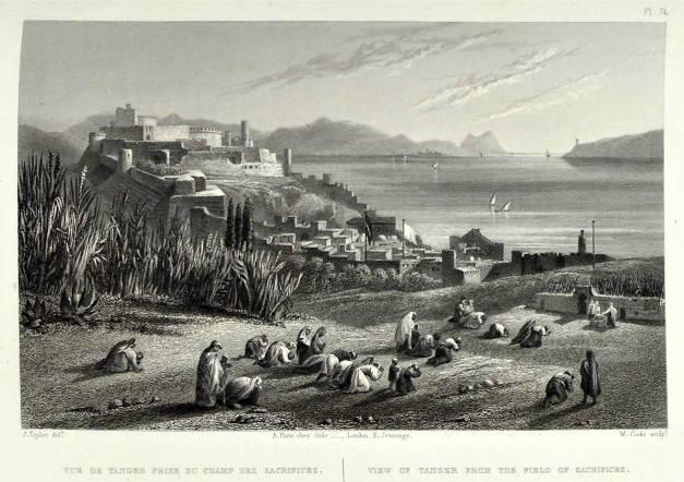Tanger em 1860