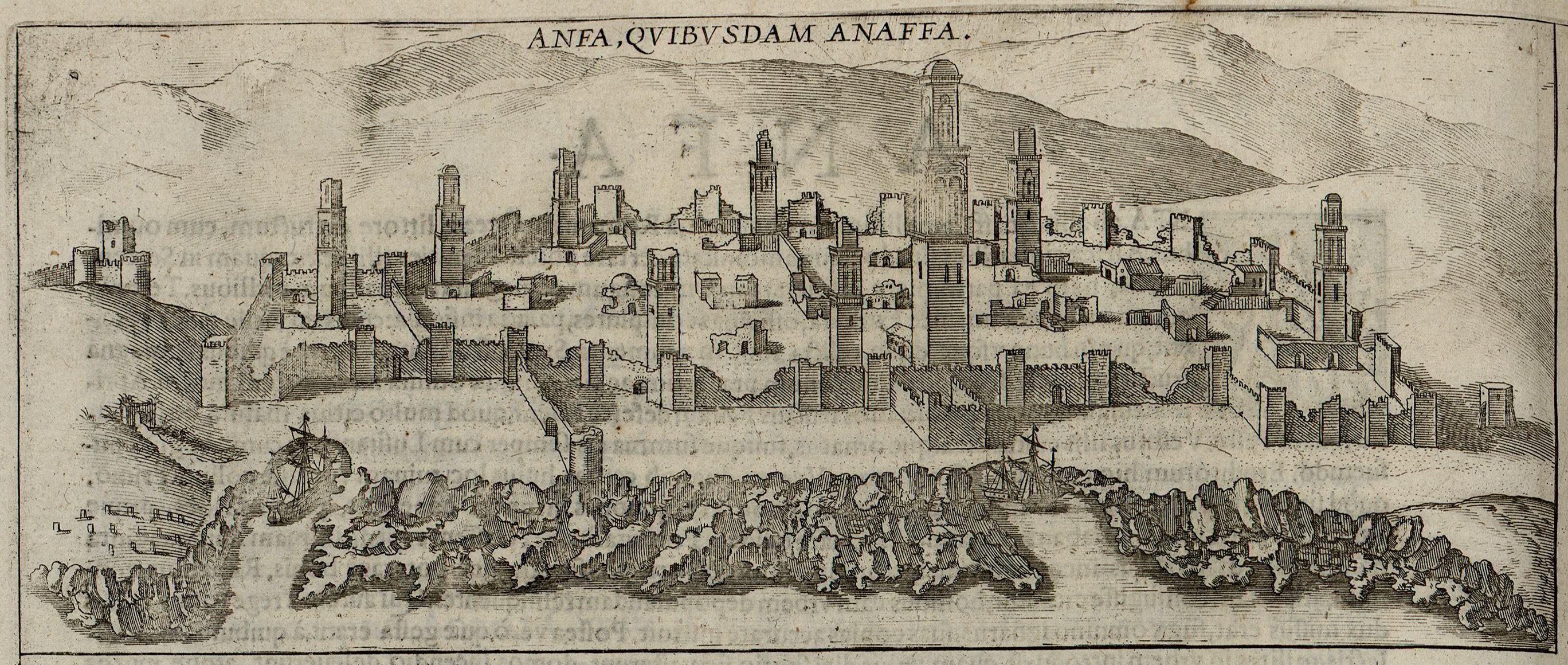 Anafé, 1572